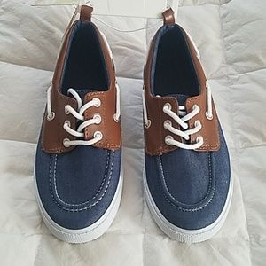 Boys boat dress shoes